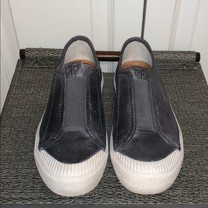 Frye slip on sneakers